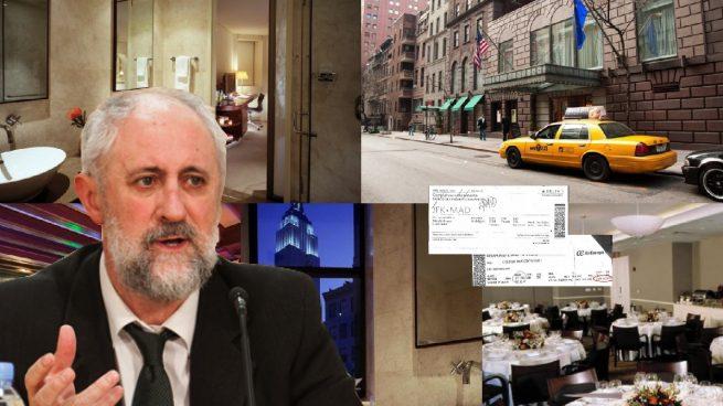 El nº 2 de Carmena vuela en 'business' a Nueva York tres días para ir de oyente a una conferencia