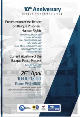 Podemos e IU invitan al etarra Otegi a presidir una reunión de su grupo parlamentario en Bruselas