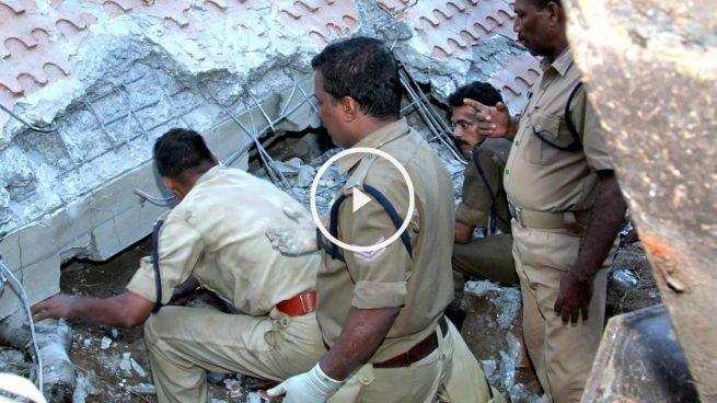 Más de 100 muertos en el incendio de un templo en India
