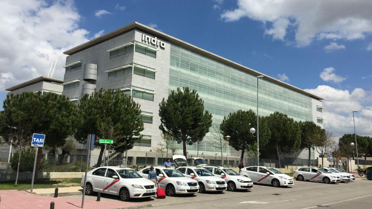Instalaciones de Indra en Alcobendas, Madrid.