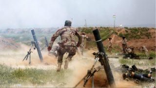 Militares iraquíes iniciando las operaciones de reconquista de Mosul. (Getty)