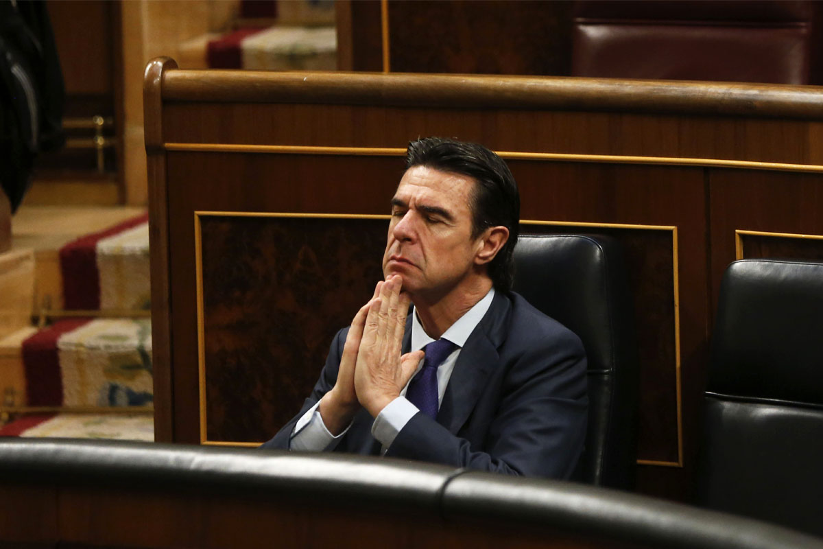 José Manuel Soria en una imagen del pasado año (Foto: Efe).