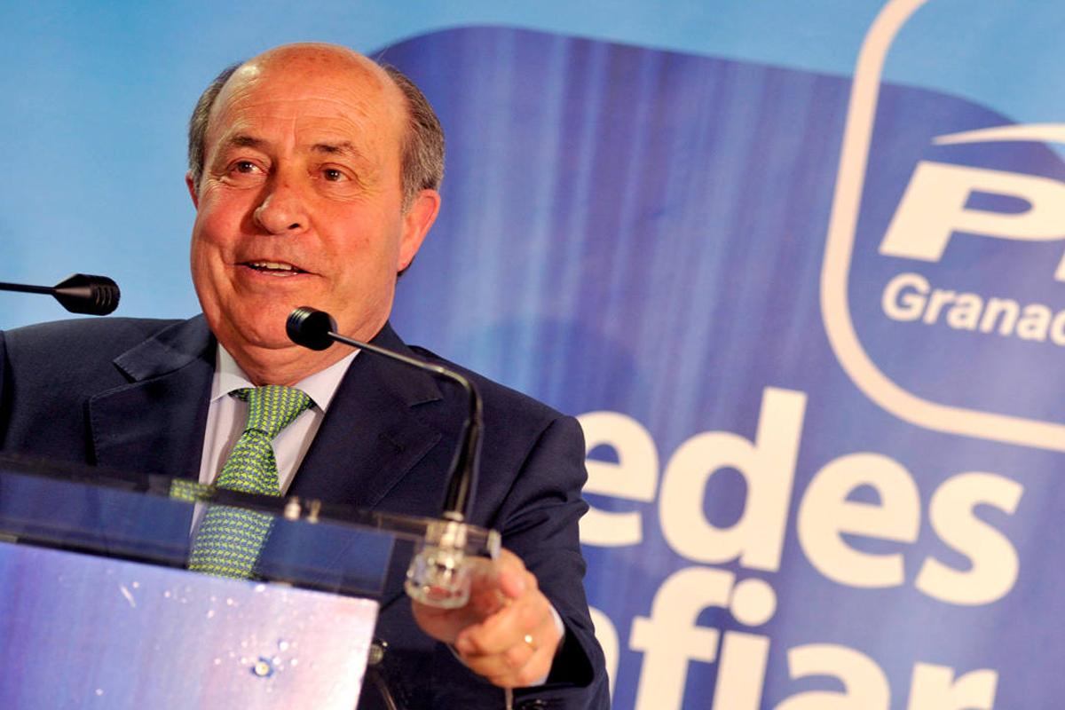 José Torres Hurtado, ex alcalde de Granada. (Foto: EFE)
