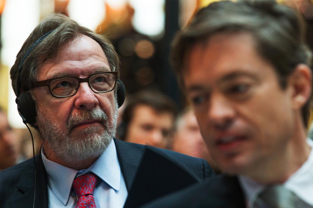 El presidente del Grupo Prisa, Juan Luis Cebrián. (Foto: AFP)