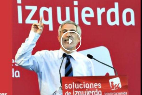 Gaspar Llamazares. (Foto: @GLlamazares)