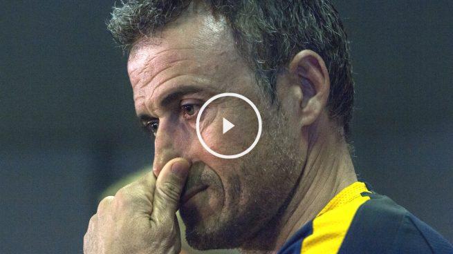Luis Enrique defiende a Alves