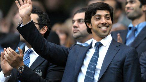 Mansour bin Zayed Al Nahyan, dueño del Manchester City. (AFP)