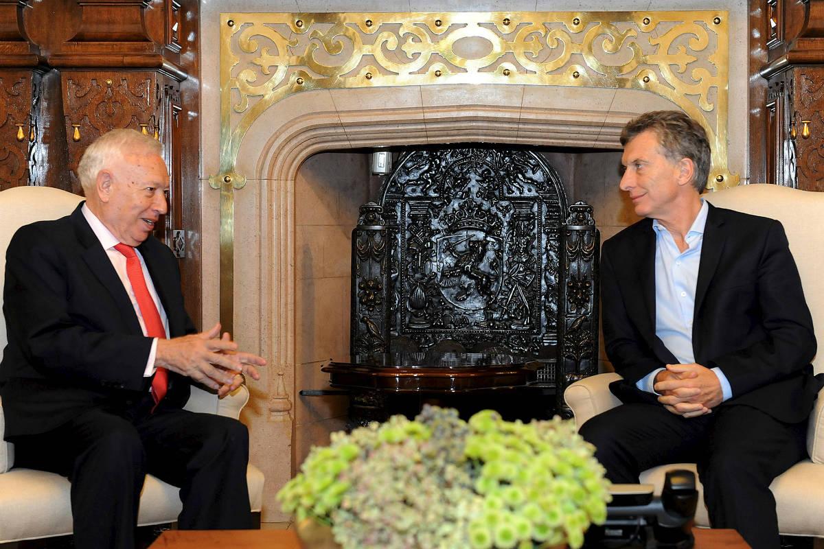 García-Margallo y Macri, esta semana, en Buenos Aires. (Reuters)