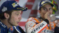 Rossi vuelve a acusar a Márquez de hacer biscotto en Mugello. (Getty)