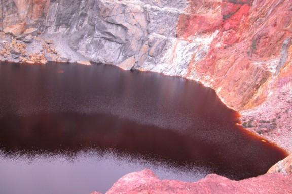 Las minas cobrizas de Río Tinto se convierten en Marte durante dos semanas