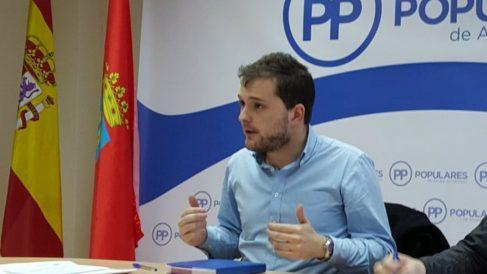 Matias Pérez Marco, en el comité ejecutivo de NNGG del PP alcalaíno.
