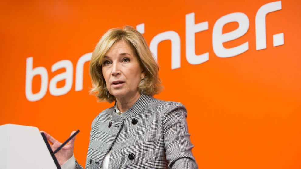 María Dolores Dancausa (Foto: BANKINTER).   Encuentro del Sector Financiero