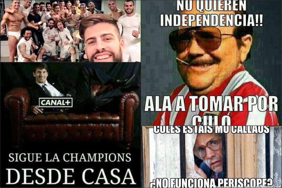 Los mejores memes de la derrota del Barcelona.