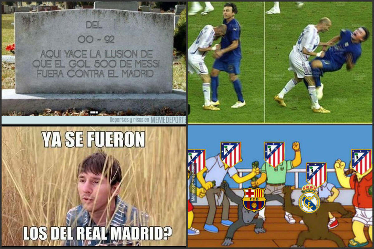 Los mejores memes del Barcelona Vs Real Madrid.