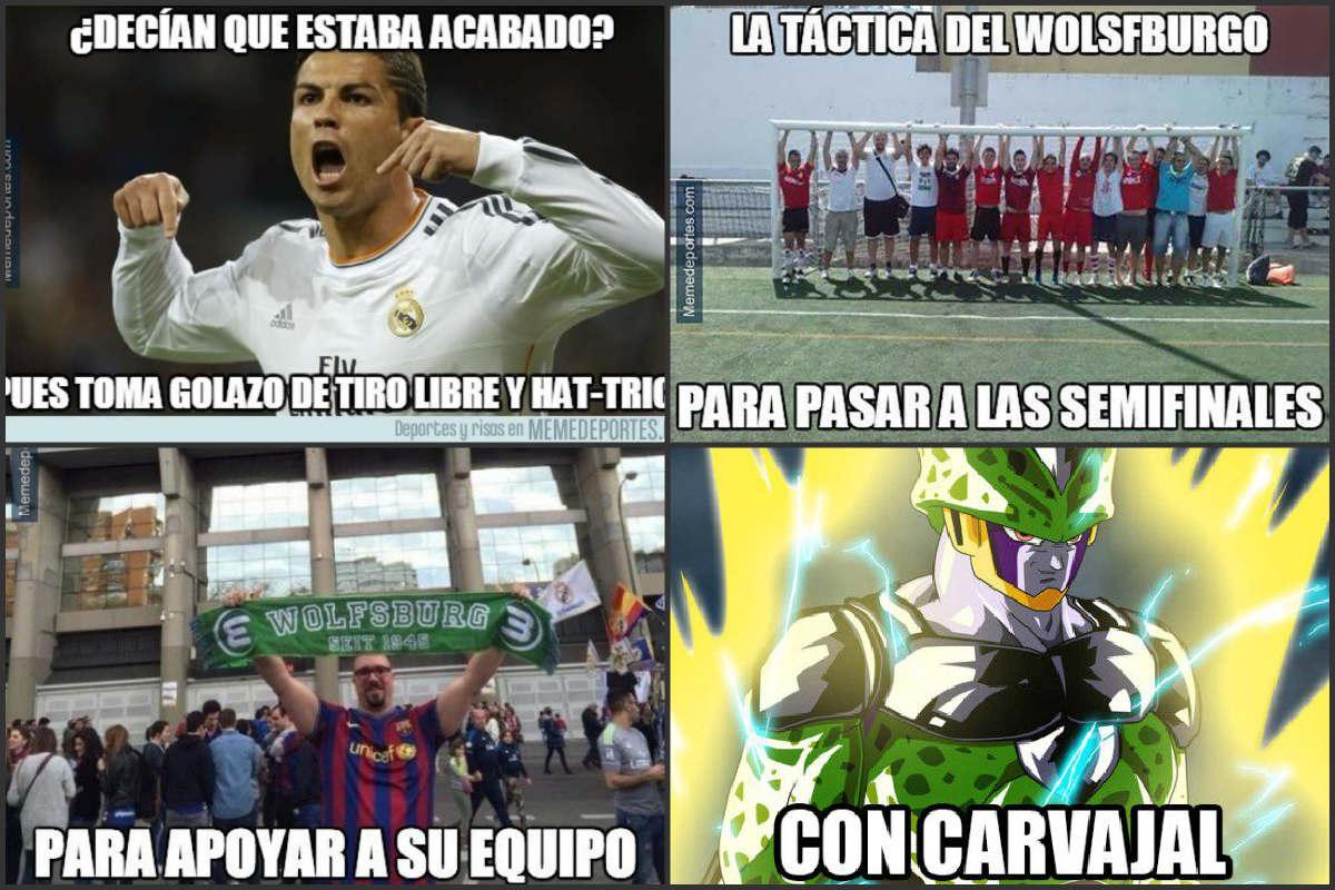 Los mejores memes del Real Madrid Vs Wolfsburgo.