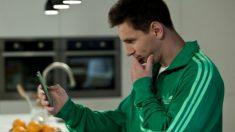 Messi, en un anuncio.