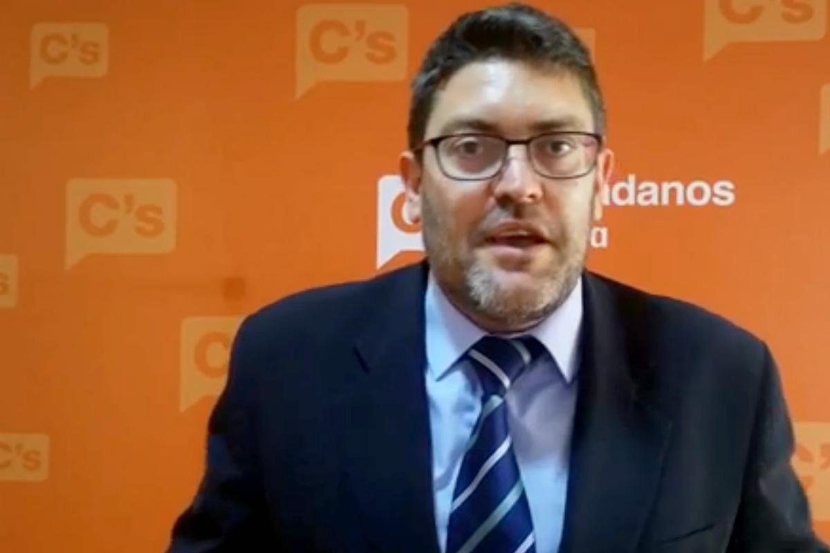 Miguez Sánchez, líder de Ciudadanos en Murcia.