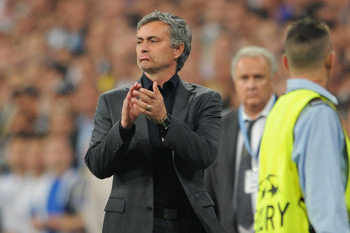 Mourinho fue expulsado ante el Barcelona. (Getty)