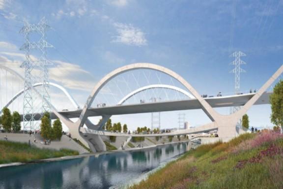 Esta será la nueva imagen del viaducto de la calle sexta.