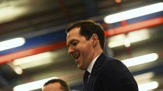 El ministro de Finanzas británico, George Osborne. (Getty)