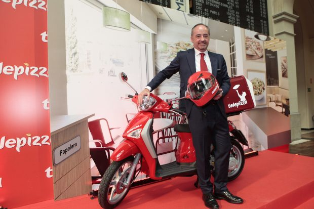 El presidente de Telepizza, Pablo Juantegui