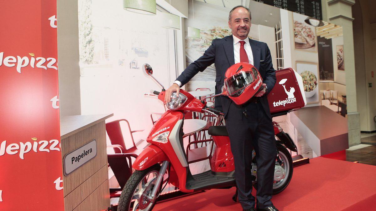 El presidente de Telepizza, Pablo Juantegui (Foto: TELEPIZZA)