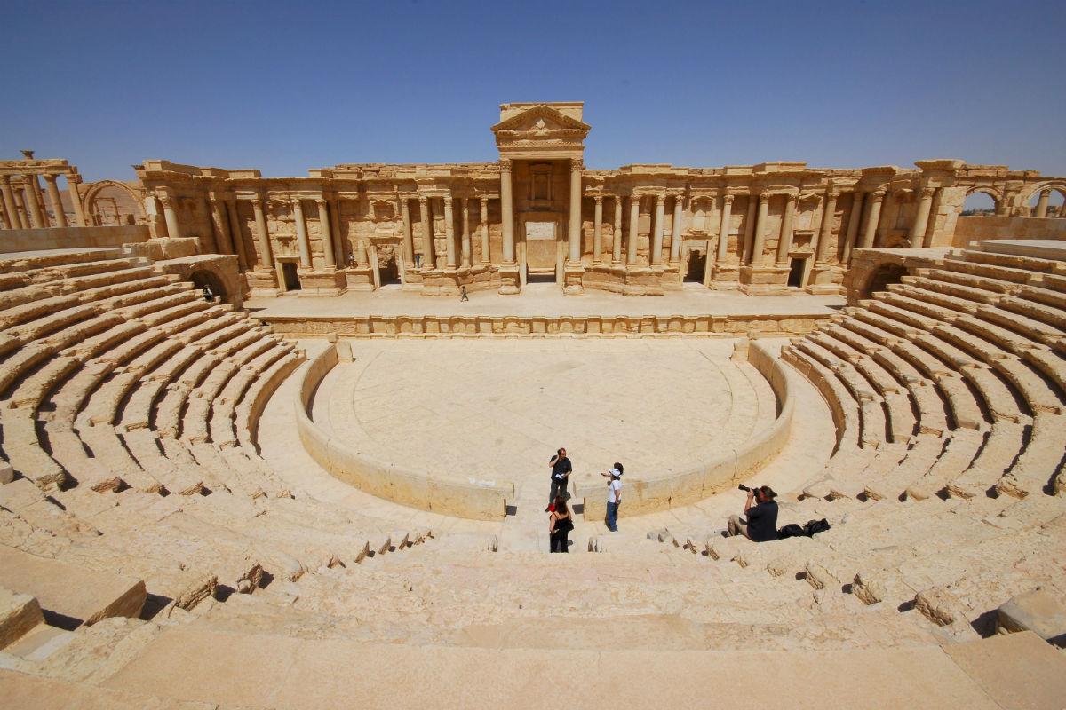 Foto de archivo del teatro romano de Palmira. (Reuters)