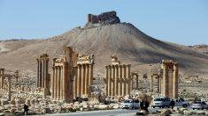 Imagen reciente de las ruinas de Palmira. (Foto: AFP)