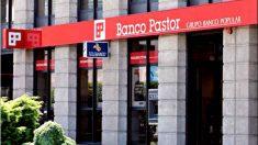 Una oficina al público del Banco Pastor.