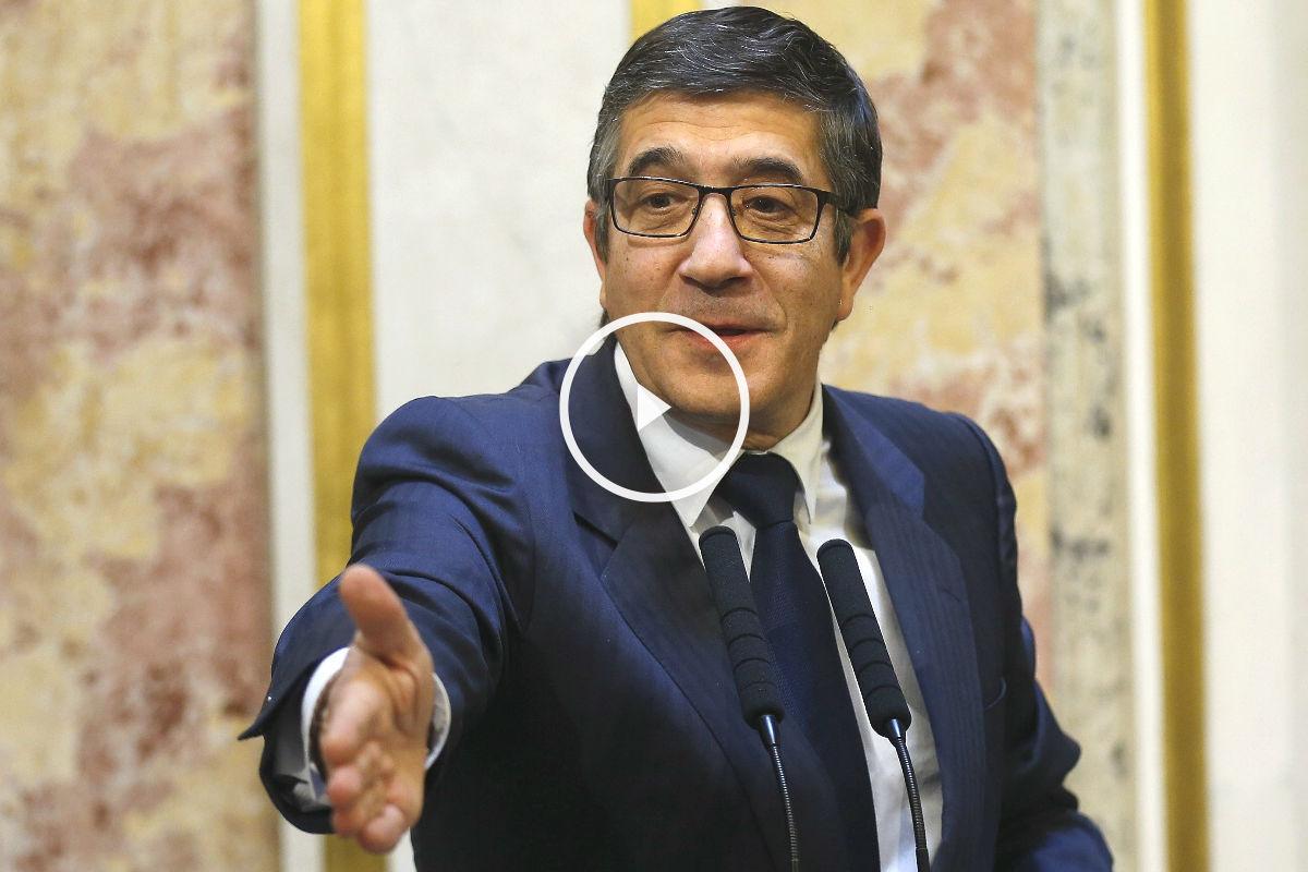 El presidente del Congreso, Patxi López (Foto: Efe)