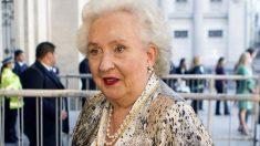 Pilar de Borbón, en una imagen reciente. (Foto: EFE)