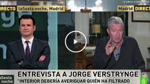 Jorge Verstrynge en La Sexta Noche