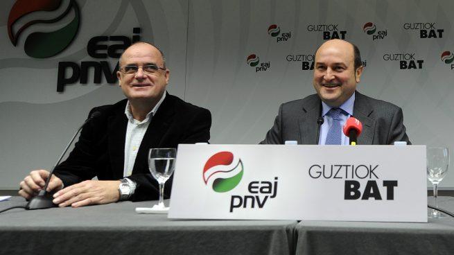 Joseba Egibar y Andoni Ortuzar