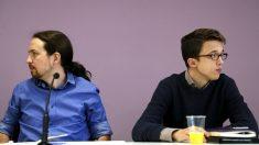 Pablo Iglesias e Iñigo Errejón. (Foto: EFE)