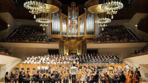 A kiss for all the world hizo sonar a Beethoven en el Auditorio Nacional de Madrid. (Foto: A kiss for all the world)