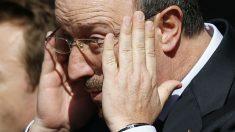 Rafa Benítez, en el banquillo del Newcastle. (Reuters)