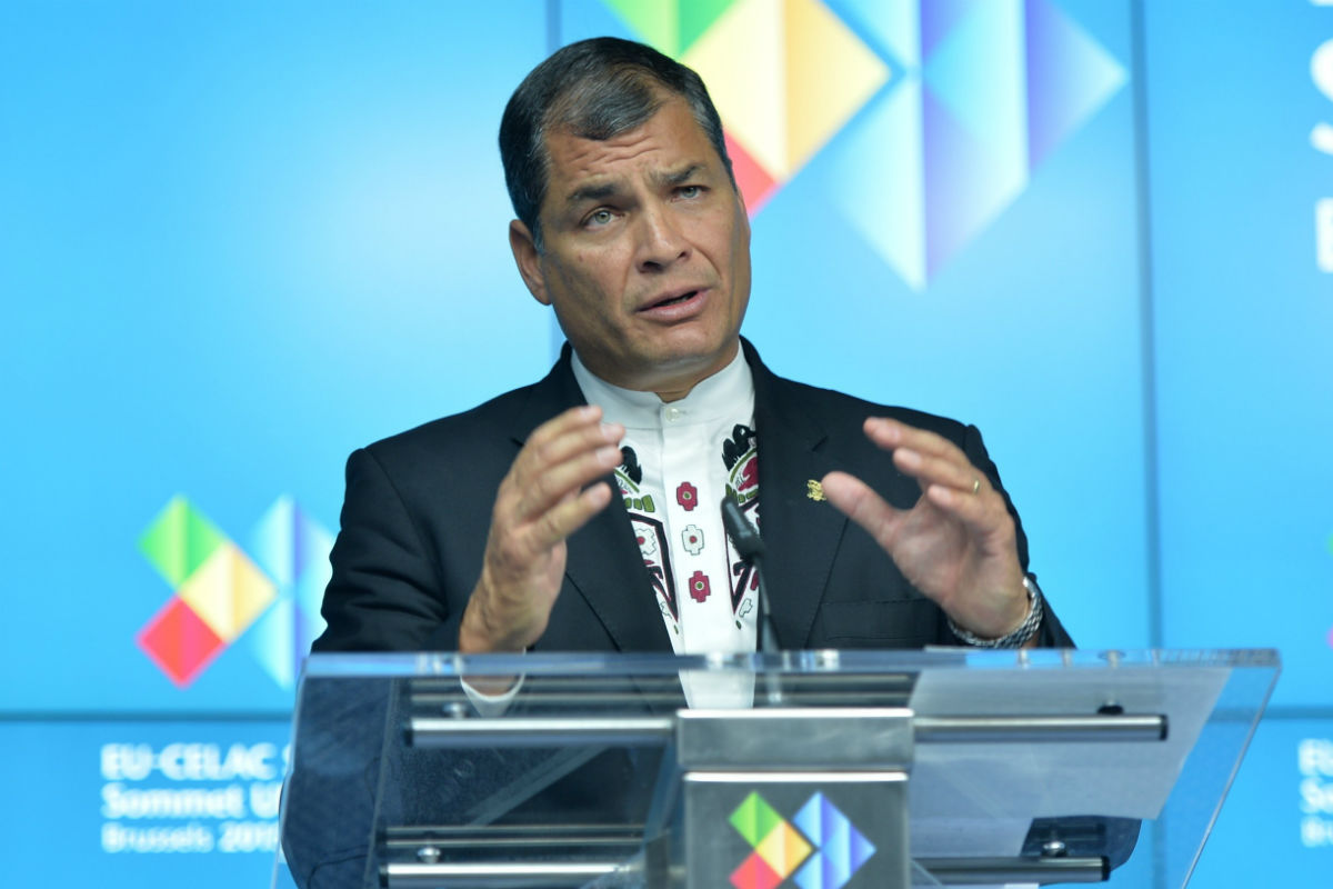 Rafael Correa (Foto: GETTY).