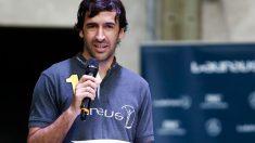 Raúl habló en un acto de la Fundación Laureus. (Getty)