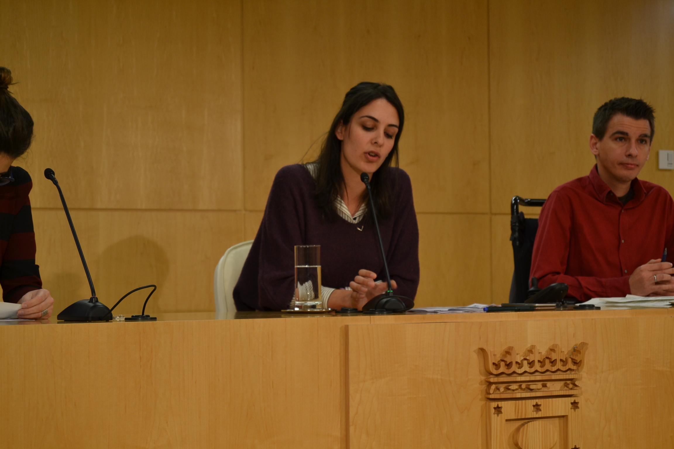 Rita Maestre, portavoz municipal. (Foto: OKDIARIO)