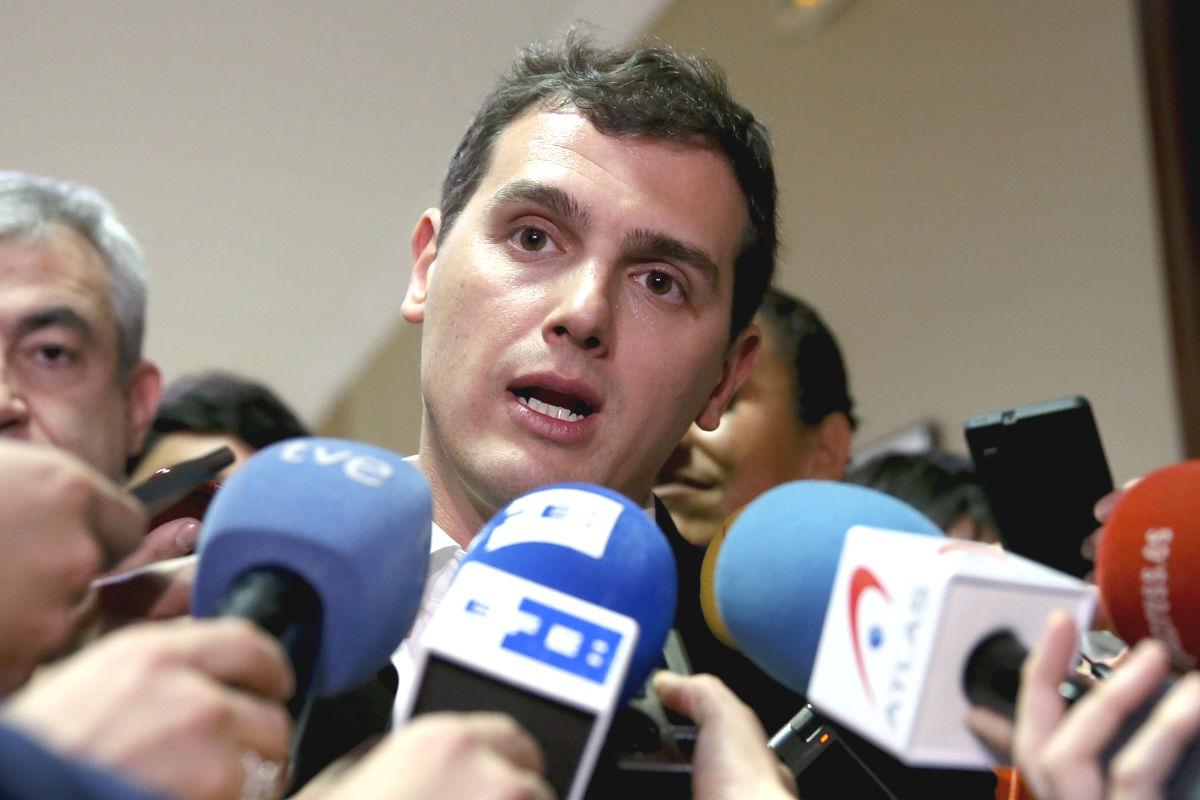 El presidente de Ciudadanos, Albert Rivera. (Foto: EFE)