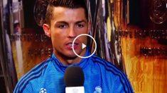 Cristiano Ronaldo en Real Madrid TV.