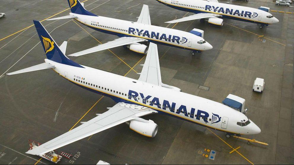 Aviones de Ryanair (Foto: RYANAIR)