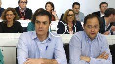El secretario general del PSOE, Pedro Sánchez, durante el Comité Federal. (Foto:EFE)
