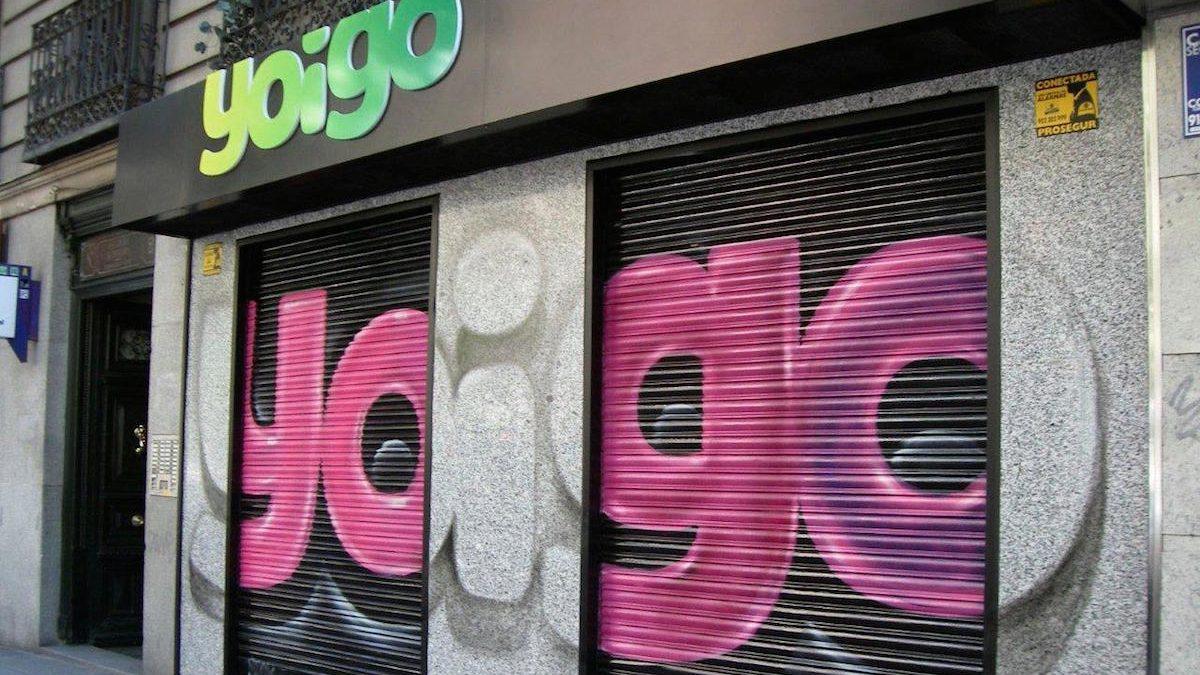 Tienda de Yoigo (Foto: YOIGO).