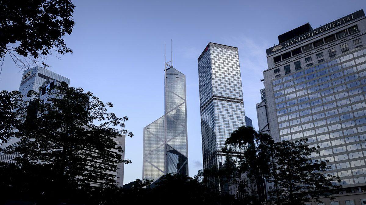 Torre del Banco de China en Hong Kong. (Foto: Getty)