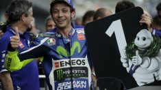 Valentino Rossi ganó el Jerez. (AFP)
