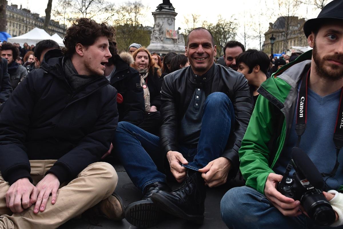 Varoufakis y los suyos fallan a su compromiso de publicar sus facturas del mitin en Matadero Madrid. (Foto: AFP)