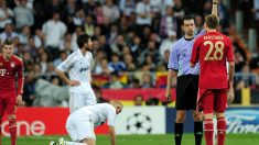 Viktor Kassai pitó al Real Madrid con el Bayern. (Getty)