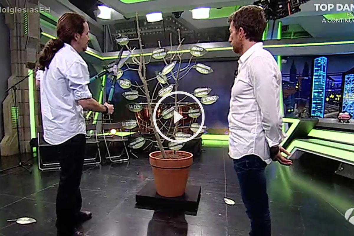 Pablo Iglesias en El HormigueroPablo Iglesias en El Hormiguero