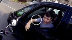 motorista feliz